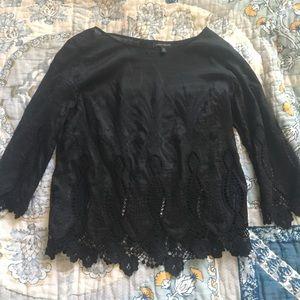 Black top by Banana size medium